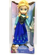 Disney Frozen Movie Anna  14 inch Plush Doll by Just Play Toys New - $29.99