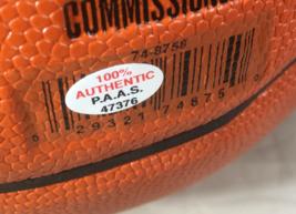 JOEL EMBIID / PHILADELPHIA 76ERS / AUTOGRAPHED FULL SIZE NBA BASKETBALL / COA image 5
