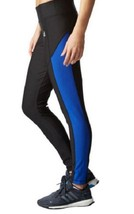 Adidas Womens Ultimate Fleece Brushed Climawarm Running Tights, Size XL - $22.76
