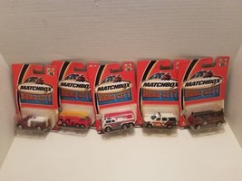 2002 Matchbox Hero City Collection Fire Rescue Vehicles Lot Of 5 #1 #2 #... - $29.69