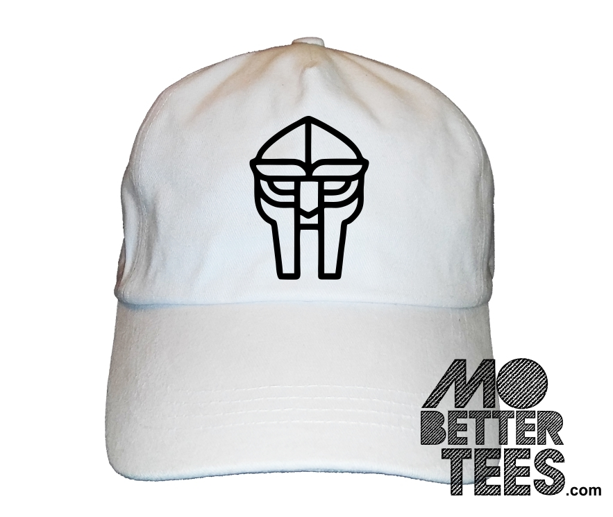 f60fc93abbf96 Doom Metal Face MF Dad Hat Baseball Cap choose from black or white