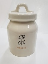 "NEW!!! RAE DUNN By MAGENTA  ""PARSLEY"" Canister. Absolutely Adorable - $18.22"