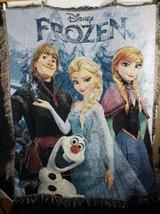 Disney Frozen Tapestry Throw Blanket - $14.84