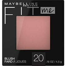 Maybelline New York Fit Me Blush #20 Mauve, 0.16 Ounce - $6.72