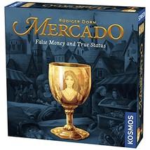 Thames & Kosmos Mercado A Family Board Game 2-4 Player | 30 Mins | Bidding | Hig