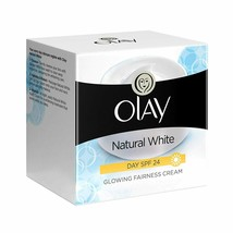 Olay Natural White Day SPF 24 Glowing Fairness Cream | 50 Gram - $21.60
