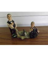 Whimical Bar Accessory - Waiter Butler Wine Decoration / Figurine (Polyr... - $14.99