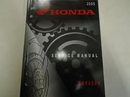 2005 2006 honda crf450r crf 450 R Service Repair Factory Shop Manual - $108.84