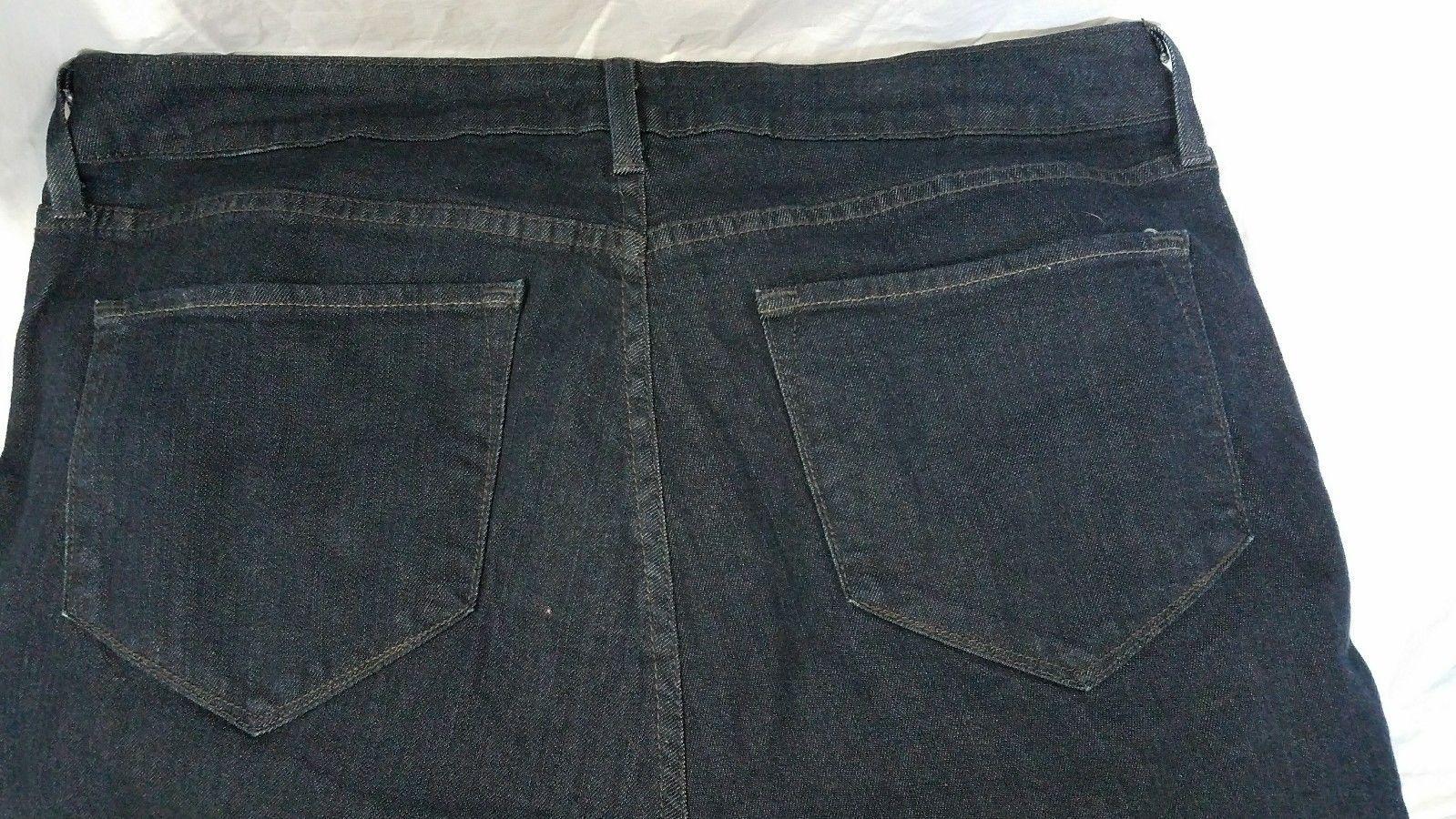 NYXD Dark Blue Denim Jeans Boot Cut Size 14W