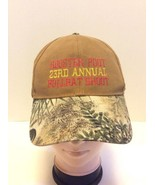 Rooster Poot Bullbat Shoot 23rd Annual 2008 Strapback Hat Cap Camo Brown... - $69.94