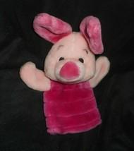 Disney Winnie The Pooh Piglet Hand Puppet Fisher Price Stuffed Animal Plush Toy - $9.50