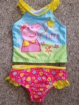PEPPA PIG Tankini Bathing Suit Girls Size 3T  - $3.88