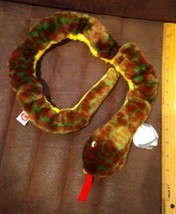 Ty Large Plush Beanie Buddy Slither the Snake  MWMT - $4.99