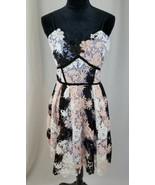 Romeo & Juliet Couture Mujer M Encaje Imperio Vestido - $84.17