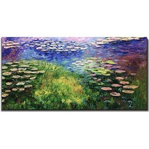 Amei Art Paintings,24X48 Inch The Series of Water Lilies Claude Monet Fa... - $92.13