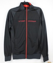 Under armor youth boy zipper jacket polyester black size SM/P - $17.51