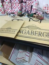 2 Longaberger Paper Bag Totes - $3.67