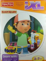 Handy Manny Fisher Price iXL Learning System CD-Rom Ages 3-7 Years - $6.26