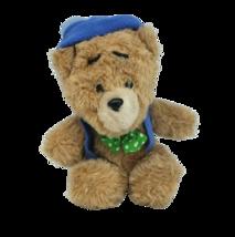 VINTAGE ANIMAL FAIR TED E BEAR SLEPT THROUGH CHRISTMAS STUFFED ANIMAL PL... - $73.87