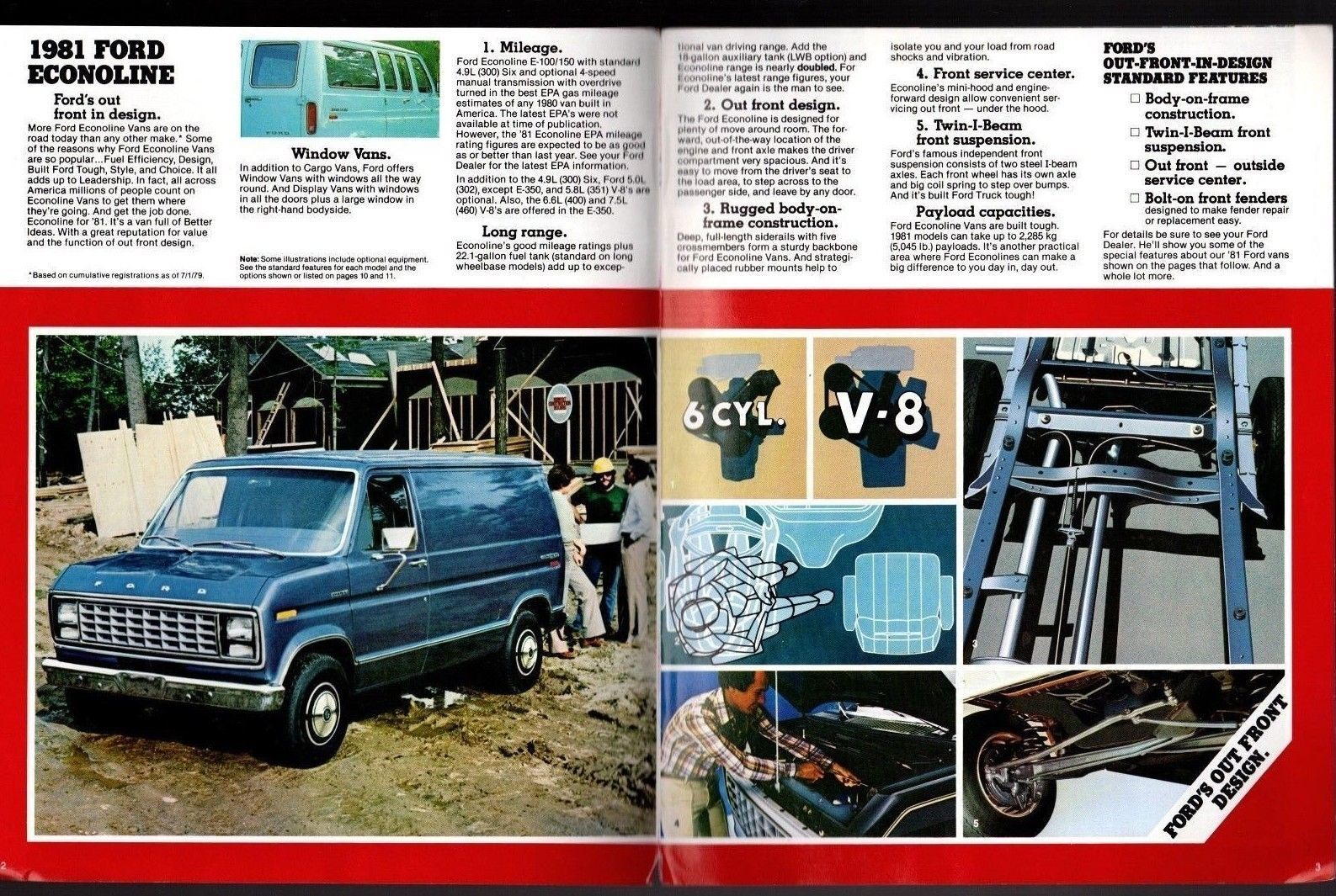 Original 1981 Ford Econoline Van Chateau and 33 similar items