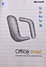 Office:Mac 2004 Student and Teacher edition 3 keys - $9.99