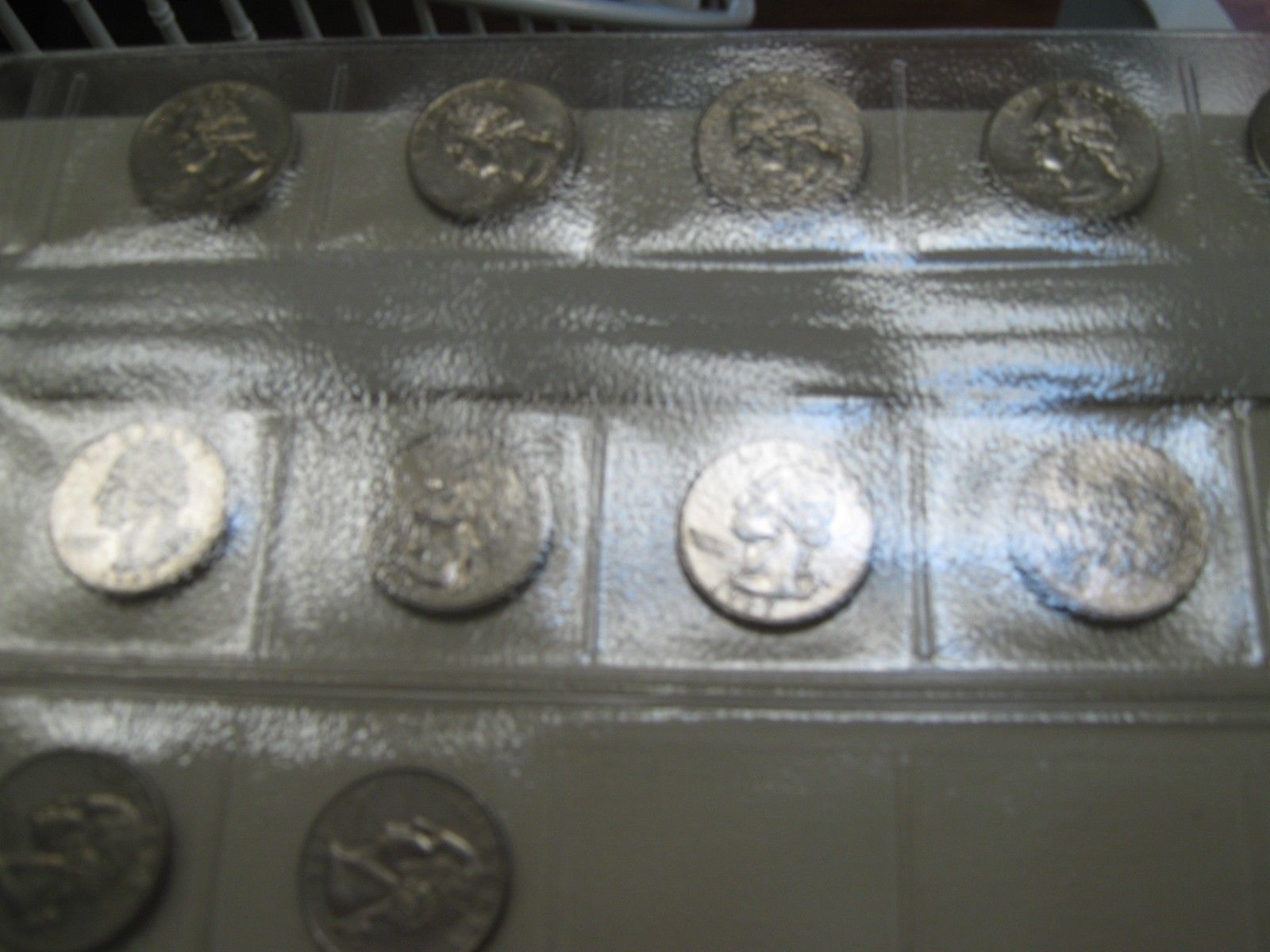 Washington Quarters  , 1960 - 1990 , A/U / Un Circulated , Lot of 115