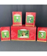 Hallmark Keepsake Ornament A Snoopy Christmas 2000 Set of 5 New in Boxes - $29.20