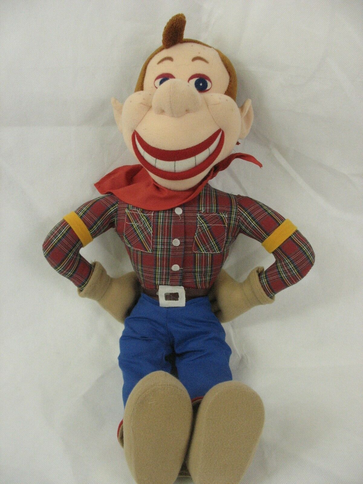 "Primary image for Howdy Doody Plush 20"" Soft Doll Good Stuff NBC King Features"
