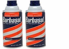 Barbasol Thick and Rich Shaving Cream, Original 10 oz Pack of 2 image 2