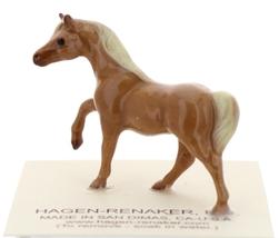 Hagen-Renaker Miniature Ceramic Horse Figurine Tiny Chestnut Mare Stallion Colt image 3