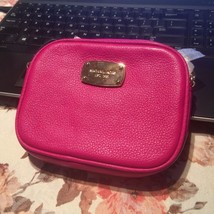 NWT Authentic MICHAEL KORS Hamilton Crossbody Purse MK Raspbeerry - $75.23