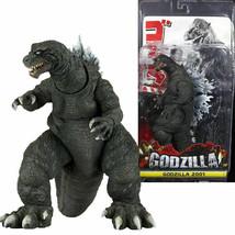 "Rare NECA - Godzilla - 12"" Head to Tail action figure - 2001 Classic Godzilla - $31.99"