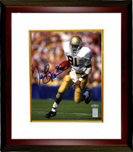 Tim Brown signed Notre Dame Fighting Irish 8X10 Photo Custom Framed (blu... - $103.00