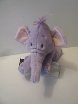 "Disney Store Exclusive 16"" Lumpy Purple Elephant Heffalump Soft Plush Toy - $23.76"