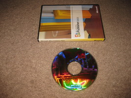 Microsoft Office Publisher 2003 w/ Product Key, complete used - $24.99
