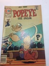 Charlton Comics All New Popeye The Sailor Vol. 8. # 132. December, 1975. - $32.53