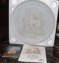 Precious Moments Bring the Little Ones to Jesus Collector Plate - $4.99