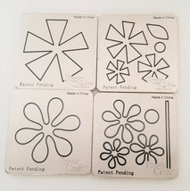 Cuttlebug Provo Craft Four Different Flowers Die Set