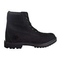 Timberland 6' Premium Boot Women's Shoes Black-Satin  TB0A1TJQ - $135.96