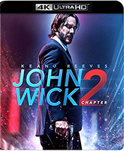 John Wick: Chapter 2 [4K Ultra HD + Blu-ray, 2017]