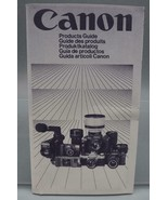 Vintage Canon Camera Products Guide dq - $43.81