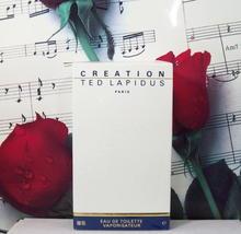 Creation By Ted Lapidus EDT Spray 3.33 FL. OZ. NWB. Vintage - $44.99