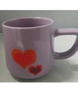 Starbucks 2019 Valentine's Heart Pride Purple Ceramic Coffee Cup Mug 12 oz - $19.79
