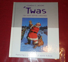 'Twas The Night Before Christmas by Clement C. Moore - Coca-Cola Santa Hallmark - $8.90