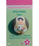 Matryoshka #10 Needleminder fabric cross stitch... - $7.00