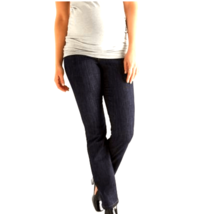 Thyme 3 in 1 Maternity Jeans Bootcut Dark Wash Denim Belly Panel XS NWT $71 - $29.50