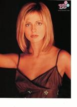 Sarah Michelle Gellar Devon Sawa teen magazine pinup clipping star dress Bop