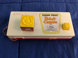 Vintage 1974 Fisher Price Pocket Camera #464 Pretend Toy A Trip to The Z... - $3.46