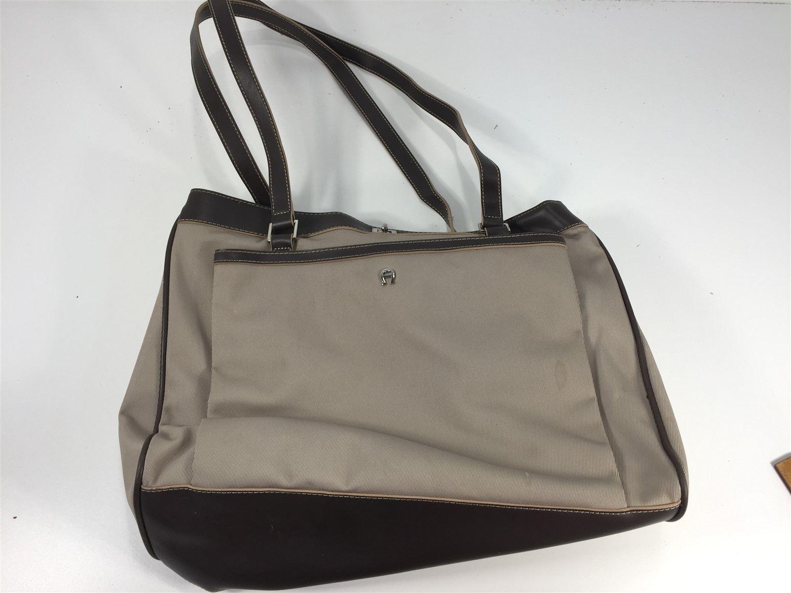 Etienne Aigner Brown Tan Women's Shoulder Handbag Purse - $49.99
