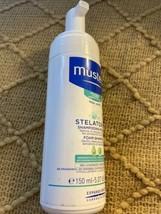 NEW Mustela Stelatopia Shampooing Mousse Foam Shampoo 5.07 Oz. Pediatric... - $14.39